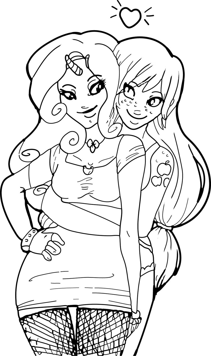 two best friends coloring pages coloring pages