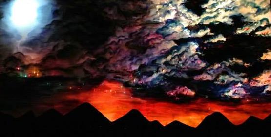 Backlit Sunset by AK47Blueberry