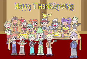 Happy Thanksgiving by Candy-Swirl