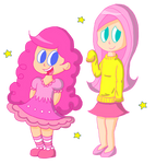 Pinkie and Fluttery