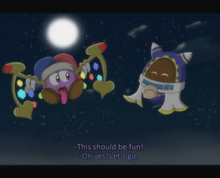 Marx and Magolor Screenshot 2 by Candy-Swirl