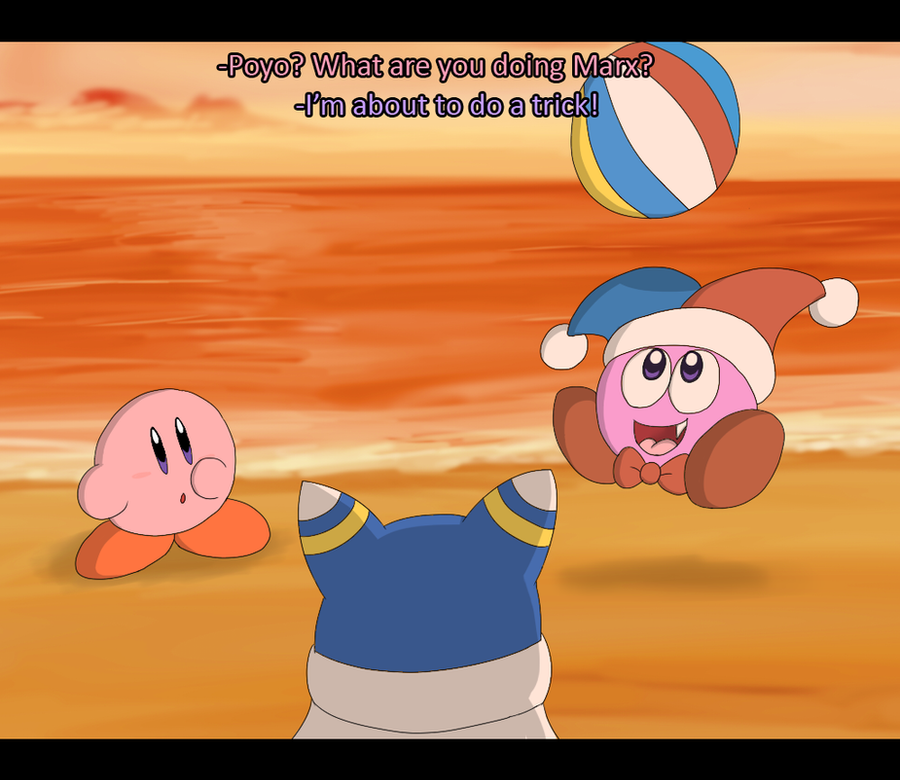 Marx, Magolor, and Kirby Screenshot 2 by Candy-Swirl