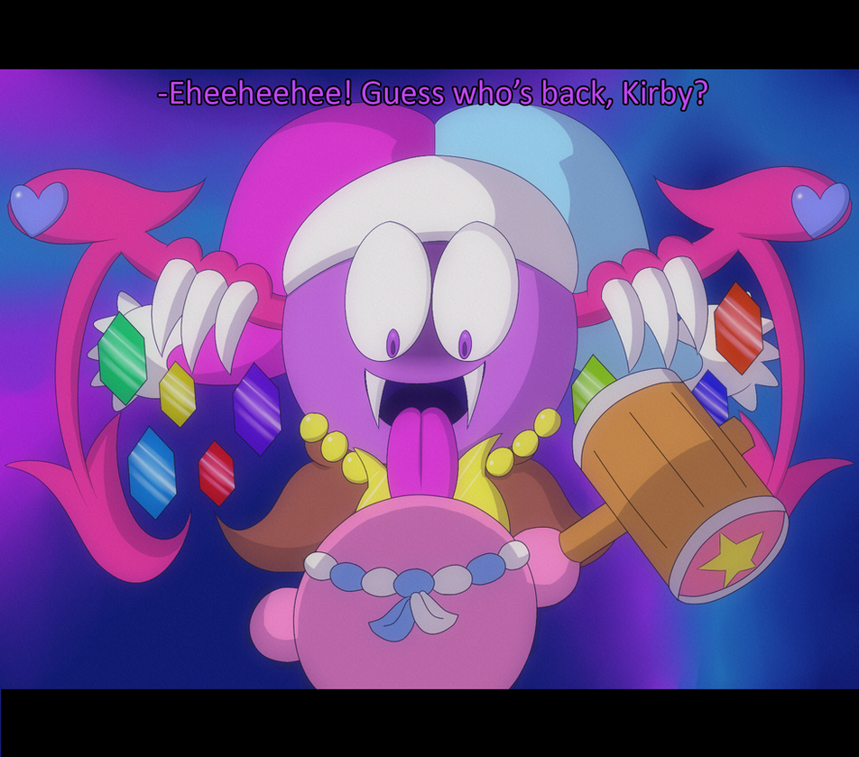 Marx Soul and Kirby Screenshot by Candy-Swirl on DeviantArt