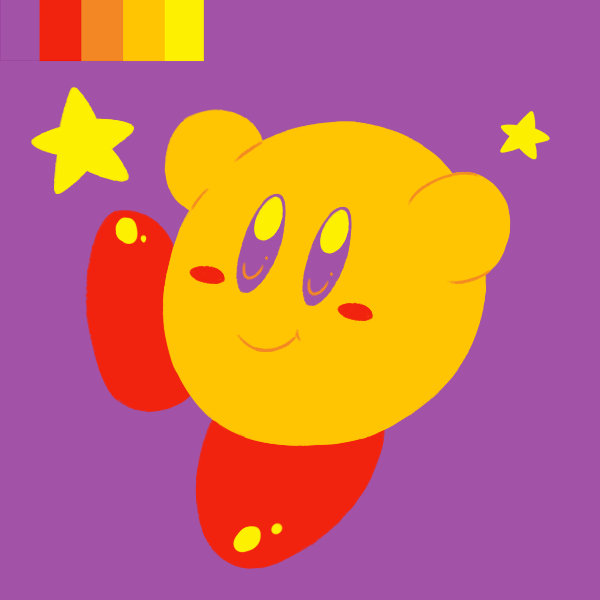 Kirby Palette by Candy-Swirl