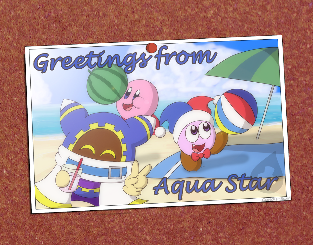 Summer Postcard by Candy-Swirl