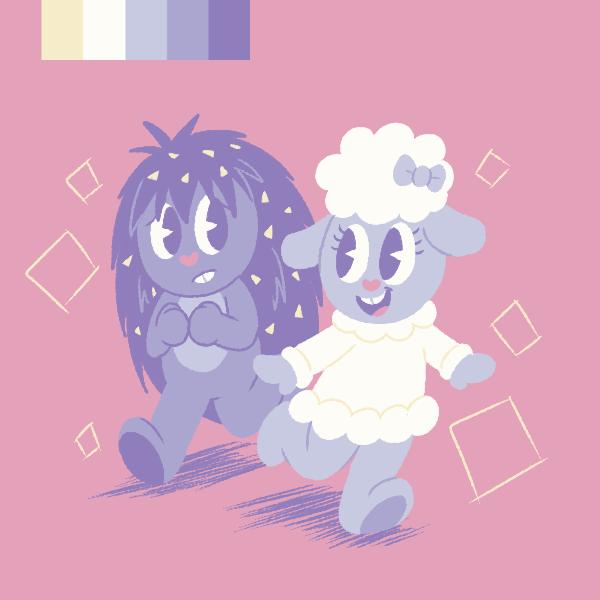HTF Cuties Palette by Candy-Swirl