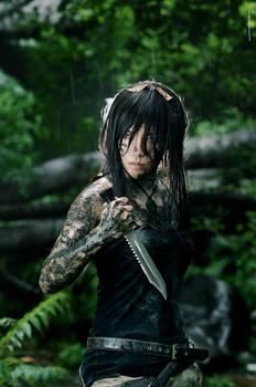 Down hair Lara
