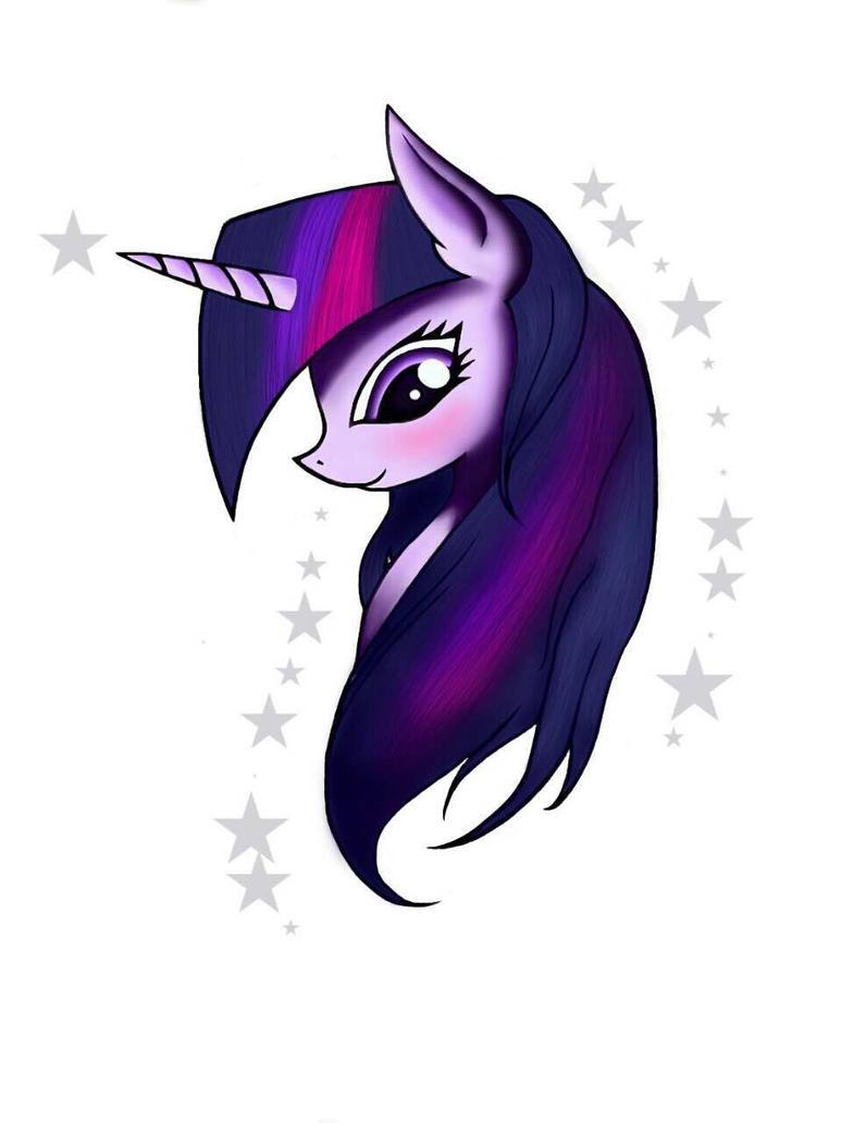 Twilight Sparkle :'3 by Viviental