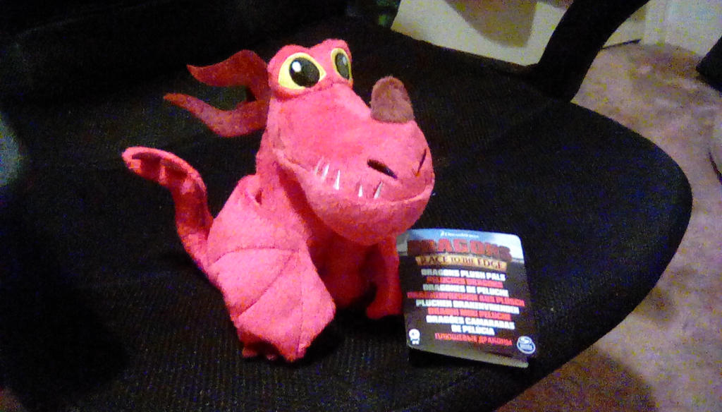 2017 Dragons Race to the Edge Hookfang Plush by PokeLoveroftheWorld