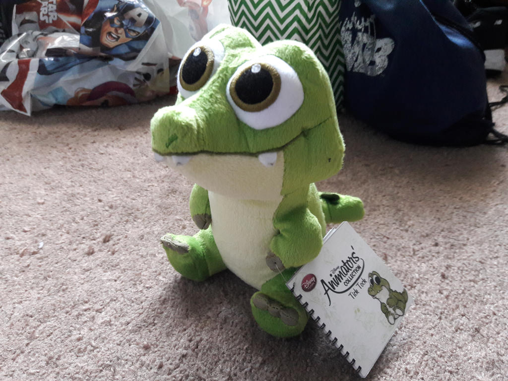 Disney Animators Collection Tick Tock Croc Plush by PokeLoveroftheWorld