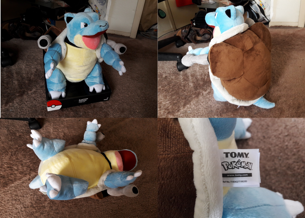 f8490543 2017 TOMY Large Blastoise Plush by PokeLoveroftheWorld on DeviantArt