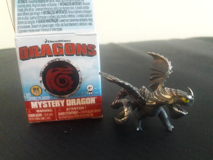 2017 DW Dragons Mystery Dragon Windshear Figure by PokeLoveroftheWorld