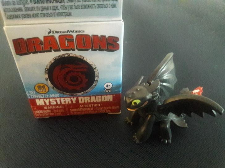 2017 DW Dragons Mystery Dragon Toothless Figure 2 by PokeLoveroftheWorld