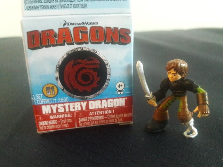 2017 DW Dragons Mystery Dragon Hiccup Figure by PokeLoveroftheWorld