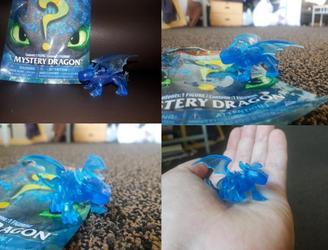 2019 Mystery Bag RARE Blue Toothless Figure by PokeLoveroftheWorld