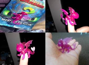 2019 Mystery Bag RARE Pink Light Fury Figure by PokeLoveroftheWorld