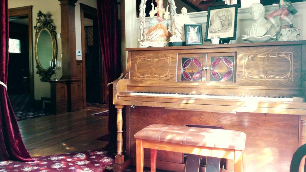 Victorian Piano  by pandorasconviction