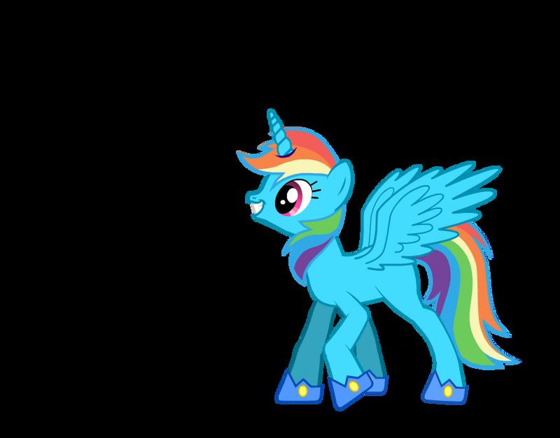 Princess Rainbow Dash by DrTrebleClef on DeviantArt