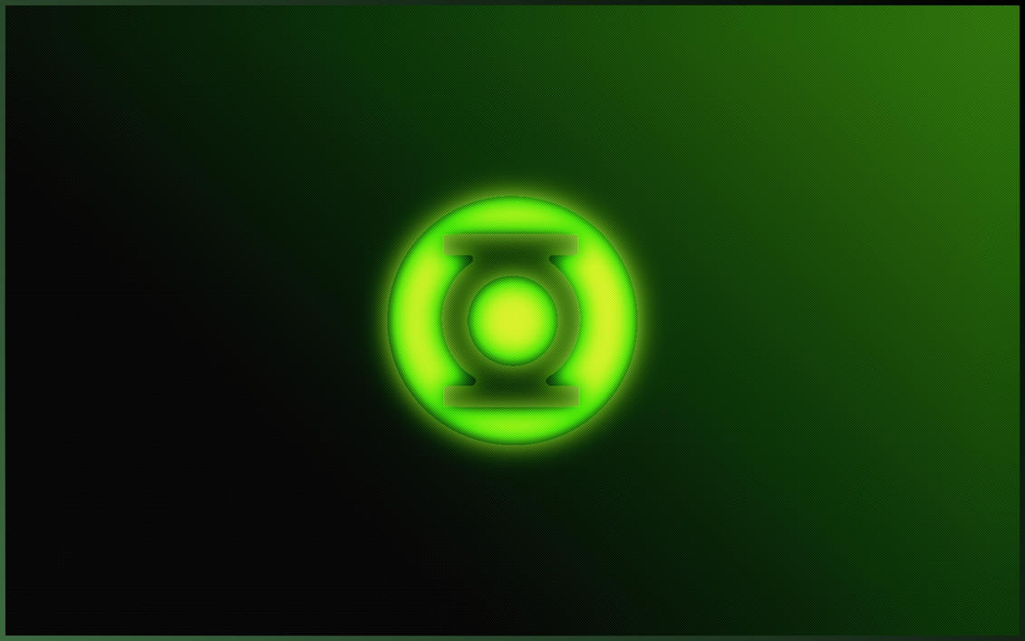 Green Lantern Glows by LordShenlong