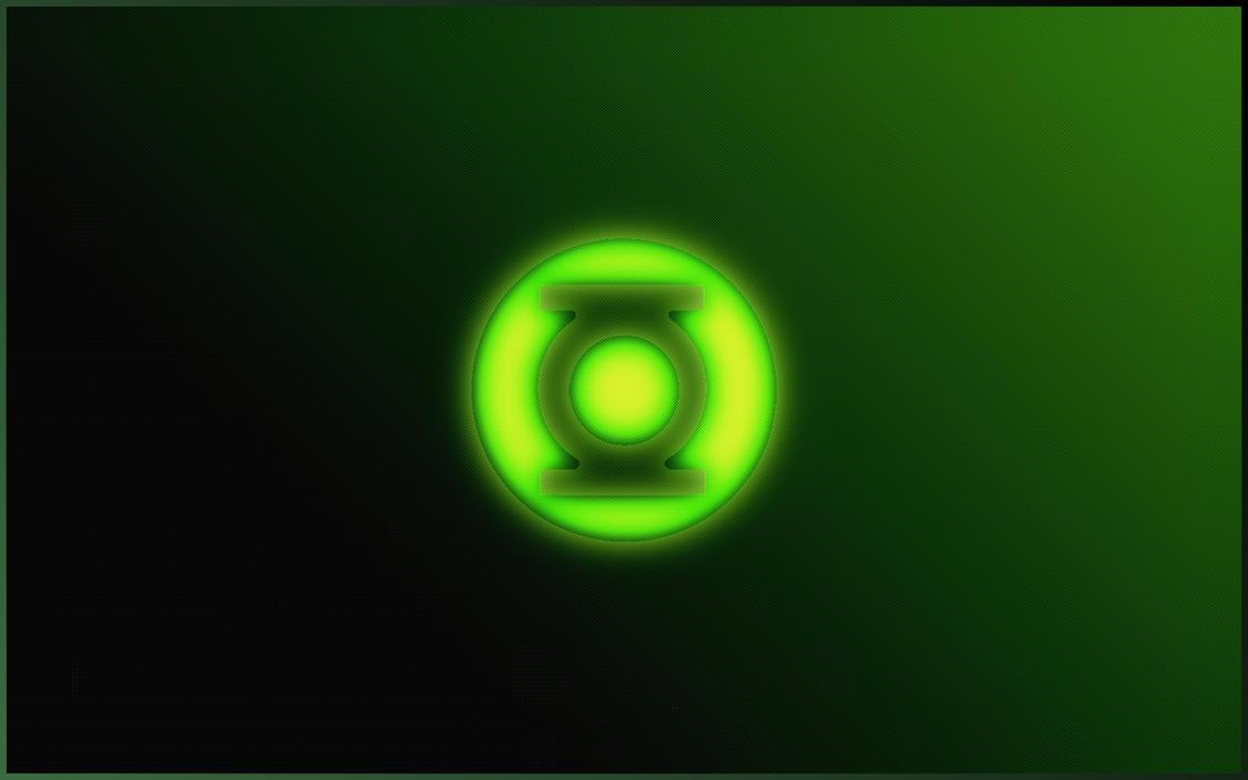 Green Lantern Glows by LordShenlong