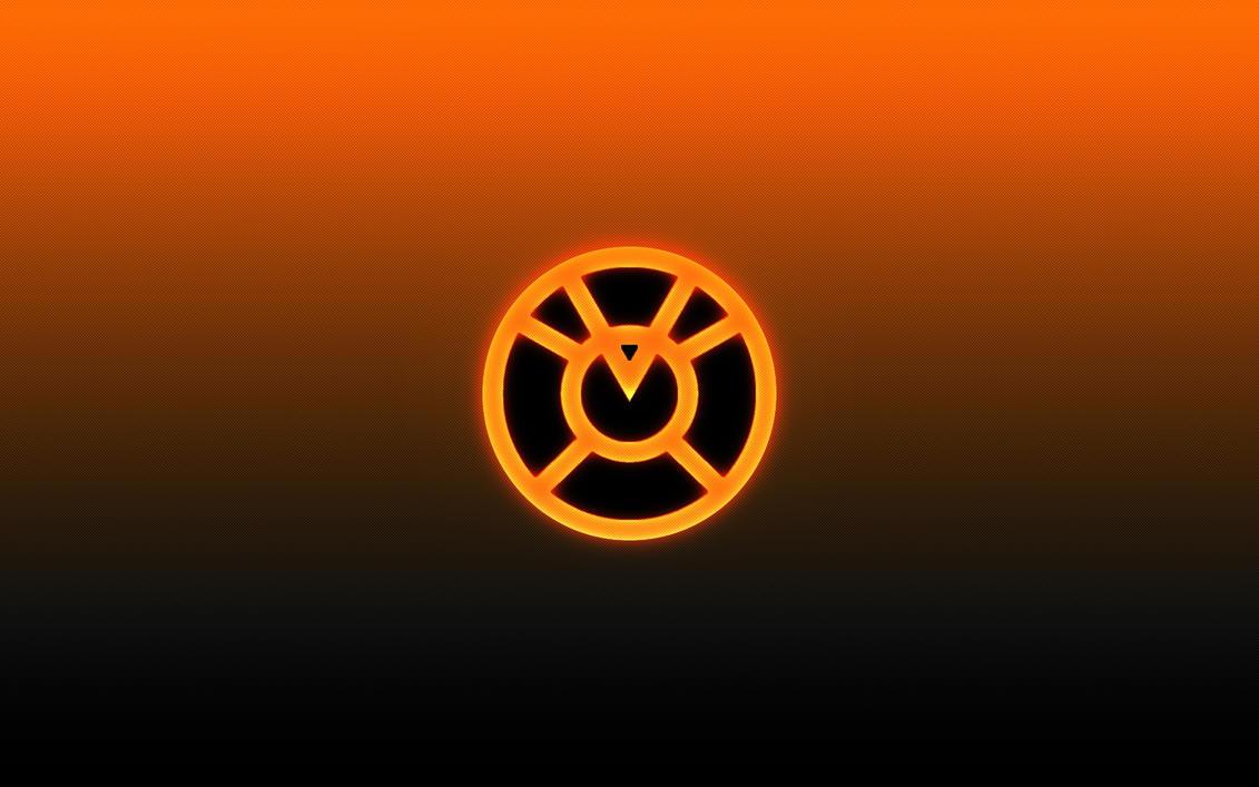 Orange lantern corps wallpaper - photo#20