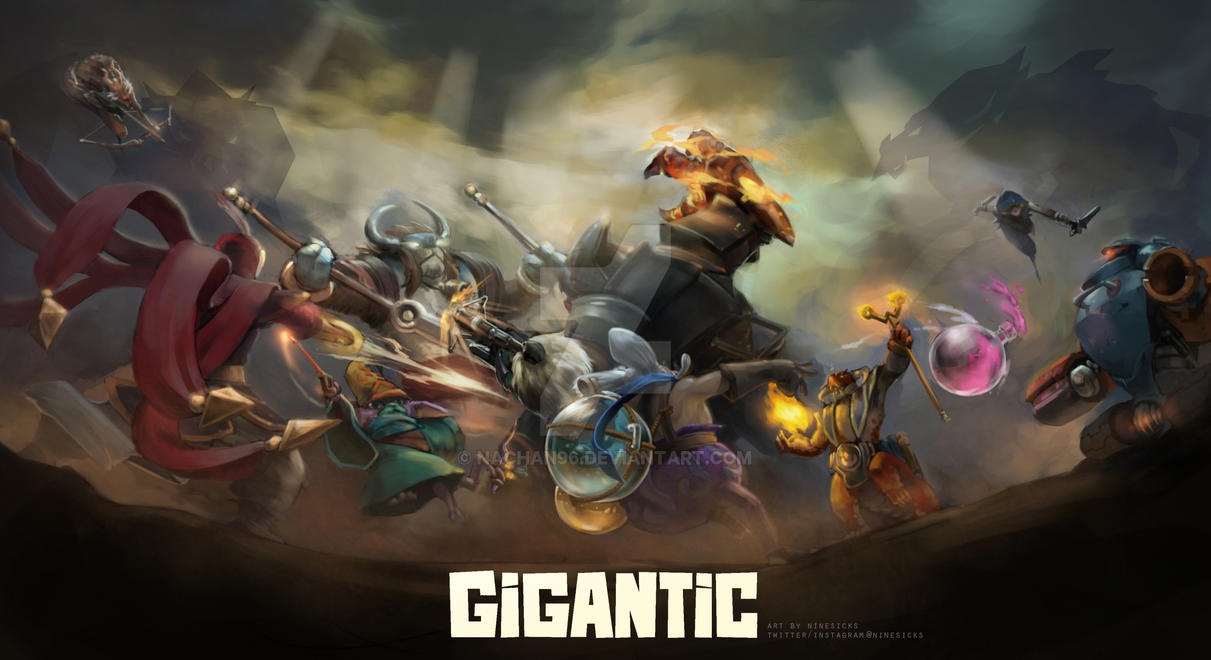 Gigantic by nachan96