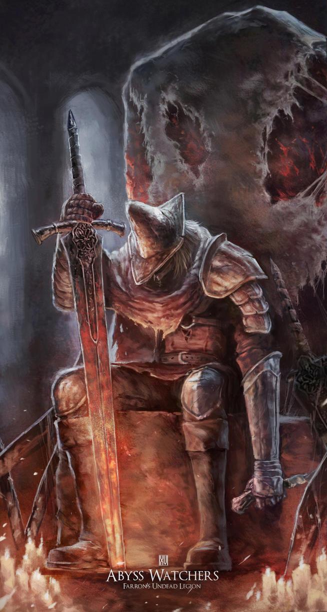 Abysswatchers - Dark Souls 3 FANART by nachan96
