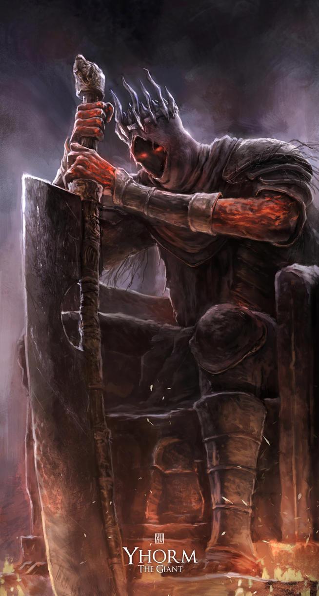 Yhorm - Dark Souls 3 FanArt by nachan96
