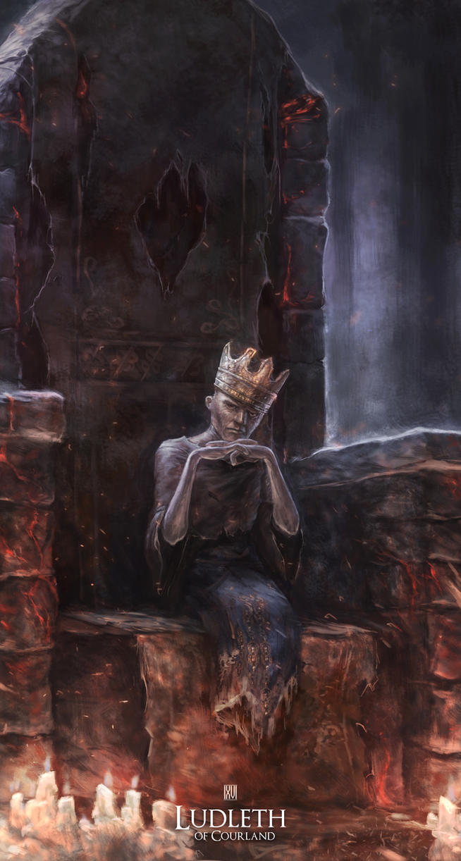Ludleth - Dark Souls 3 FanArt by nachan96