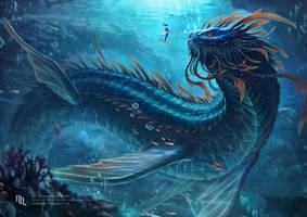Arga, The Wisdom of the Deep by nachan96