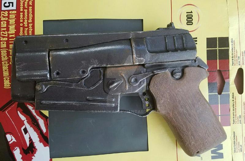 Fallout 4 10mm Pistol by Sammukai