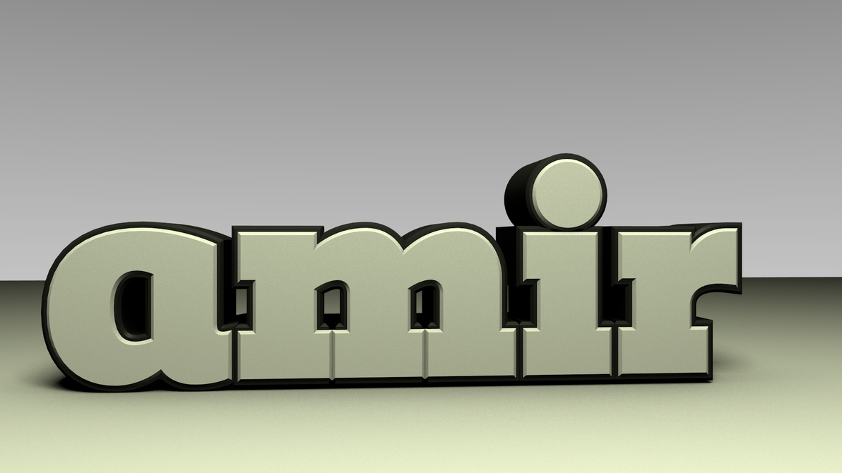 Good Wallpaper Name Aamir - awesome___amir___3d_text_by_mahbar-d2yrg34  Picture_43596.png