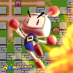 Game Alphabet, Letter B: Bomberman! by starcrawler