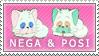 Nega And Posi Stamp by Princesstekki