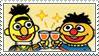 Bert And Ernie Stamp by Princesstekki