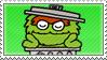 Oscar the Grouch Stamp by Princesstekki
