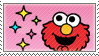 Elmo Sparkles Stamp by Princesstekki
