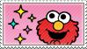 Elmo Sparkles Stamp by Princesstekki