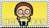 Morty Fan Stamp by Princesstekki