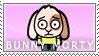 Bunny Morty Stamp by Princesstekki