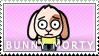 Bunny Morty Stamp by Princesstekki