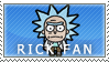 Rick Fan Stamp by Princesstekki