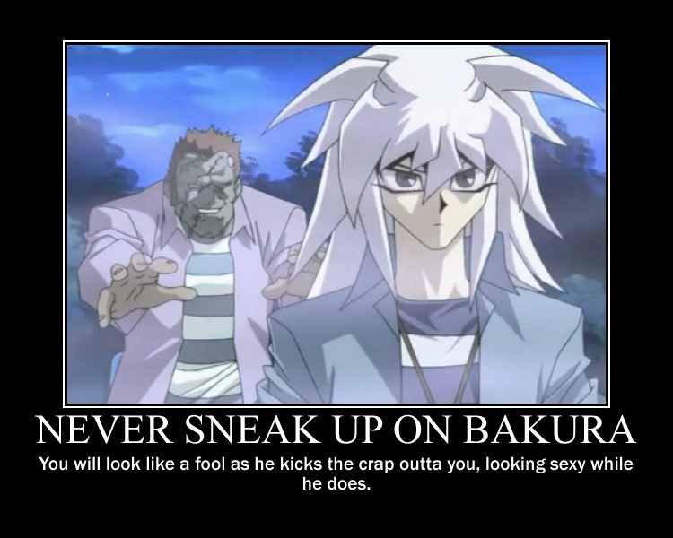 Never Sneak Up On Bakura... by toshiku101