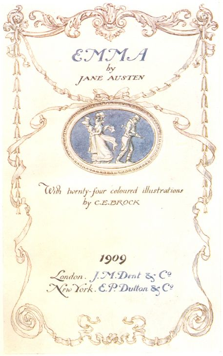 Emma title page by austenette