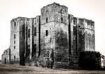 Kenilworth Castle Ruins BW