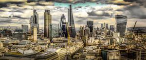 London Cityscape II