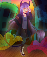 [Redraw] Salute! + Speedpaint by Corrupt-Ghost