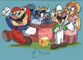 30 Years For Super Mario Bros. by SteLo-Productions95