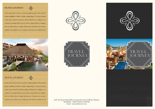 Free Travel Brochure Template PSD # 2