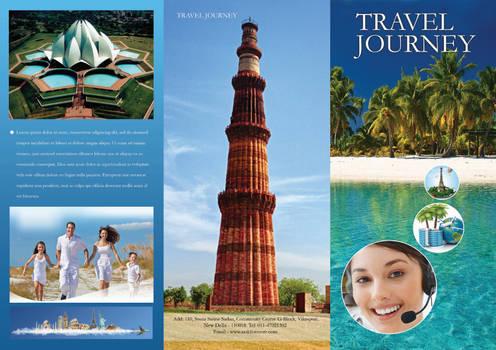 Free Travel Brochure Template PSD #1
